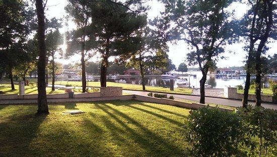 Melia Istrian Villas : view from villa to the harbor