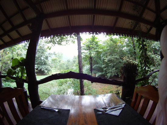 Khao Sok Paradise Resort: dining area