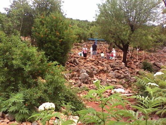 Medjugorje Tours & Travel Day Tour: Il n'y a pas foule en juin 2014