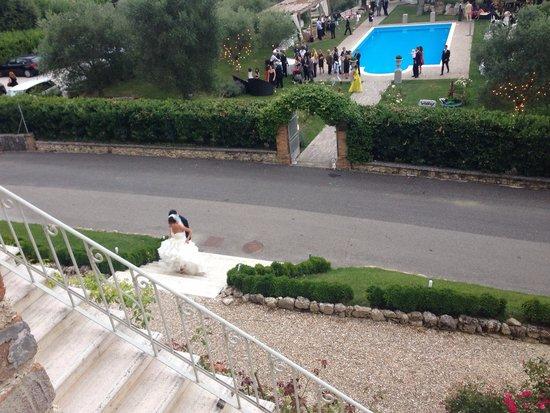 Castello di Montignano Relais & Spa : Sposa dalla finestra