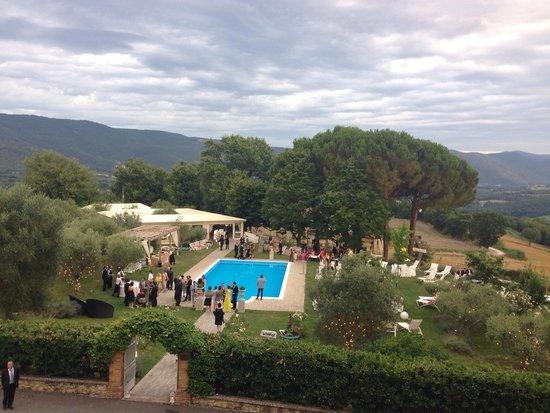 Castello di Montignano Relais & Spa : Matrimonio in piscina