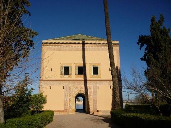 Menara Gardens and Pavilion : Menara Pavilion - exterior view
