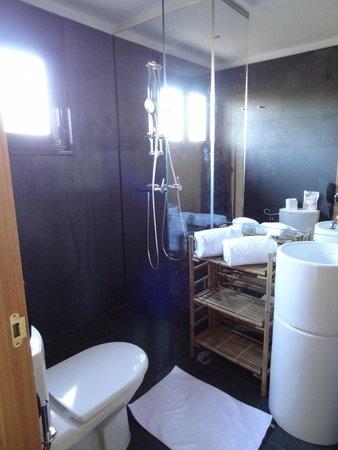 Lajares, Espanha: badkamer 1e etage