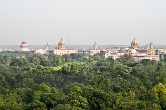Taj Mahal Hotel: City view from our room.  Don't be fooled, this IS a part of downtown Delhi!