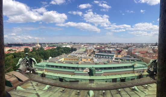 The Museum Complex The State Museum St. Isaac's Cathedral: Panoramic view from the cathedral