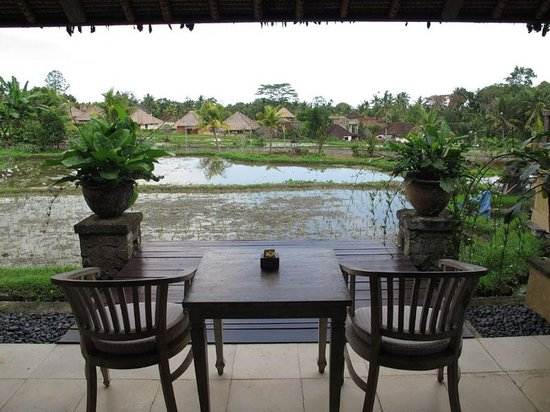 Wapa di Ume Resort and Spa: Terrace view from room 502