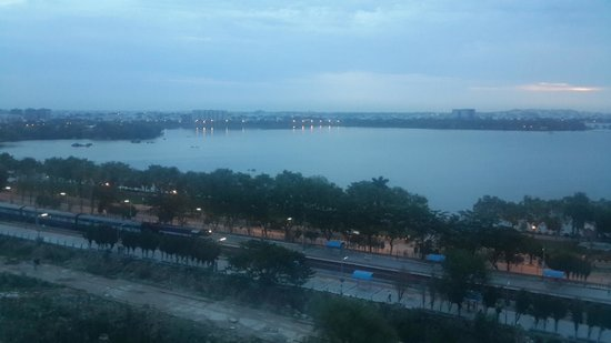 The Park Hyderabad: Lake view