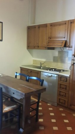 Fattoria San Lorenzo : Кухня