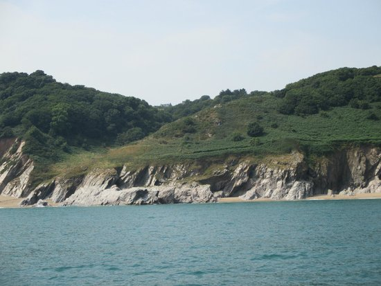 Greenway Ferry & River Boat Cruises: Great views of the Devon coast, we were even lucky enough to spot dolphins