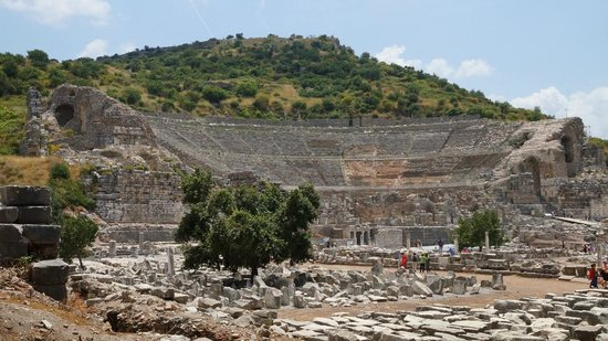 Ancient City of Ephesus: Ruins of the theater