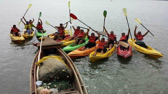 Fatai Kayak Adventures : Fatai Kayak - Our Group Shot