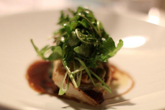 Restaurant L'Essentiel : Dos de merlu rôti