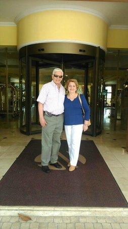 Denia La Sella Golf Resort & Spa : Entrada al hotel