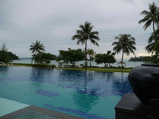 The Danna Langkawi, Malaysia: Pool & beachfront