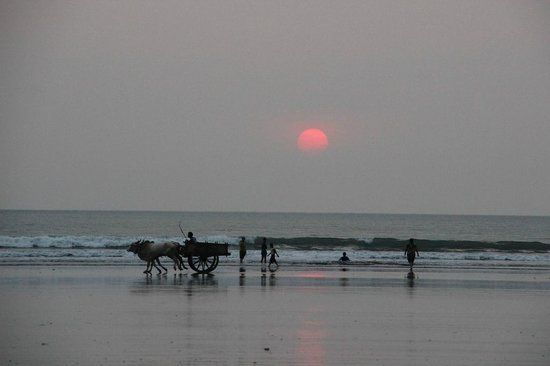 Dapoli, India: Beautiful sunset