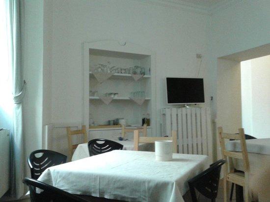 Paris Hotel Rome : Comedor