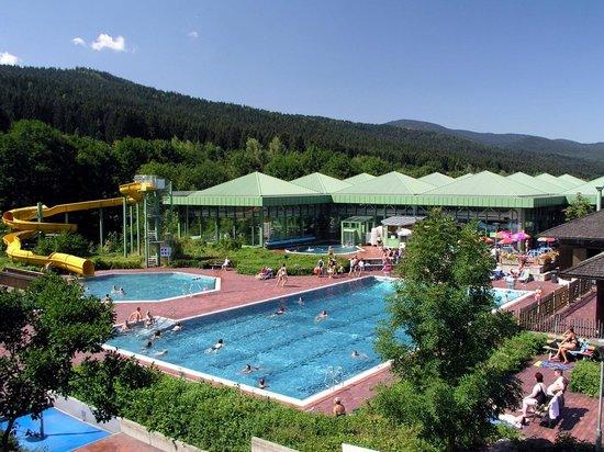Gasthof Meindl: Osserbad Lam mit Sauna und Freibad täglich inklusive (3 km)