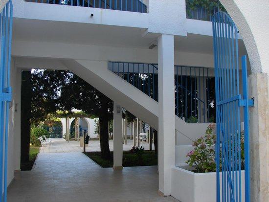 Hotel Slovenska Plaza: Территория между корпусами