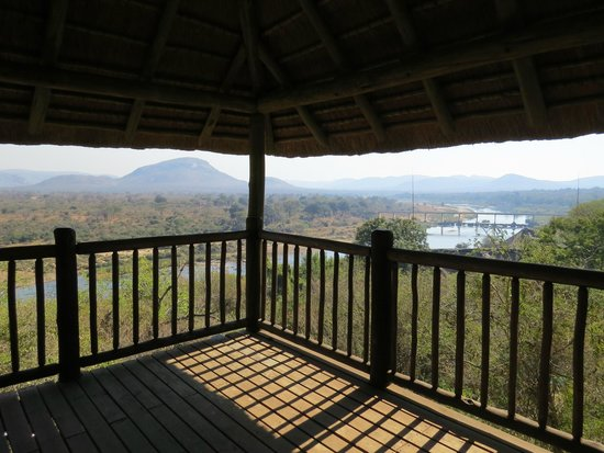 Pestana Kruger Lodge: View from water slide tower