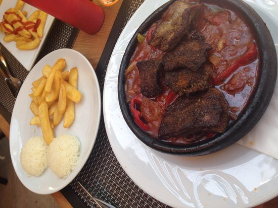 Kibele Restaurant : My last meal & it went with a bang!! I love it here!