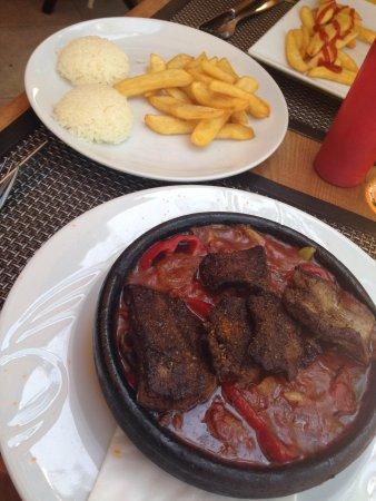 Kibele Restaurant: My last meal & it went with a bang!! I love it here!