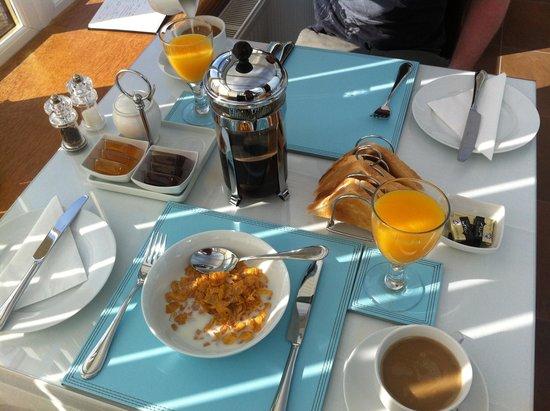 Goldberry Cottage B&B: Great breakfast