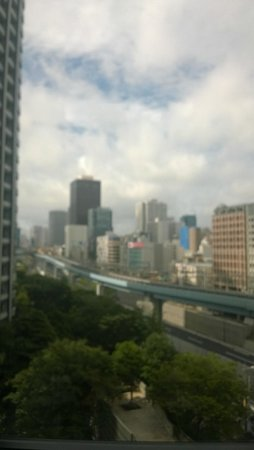 Hotel Villa Fontaine Tokyo-Shiodome: View from My Room