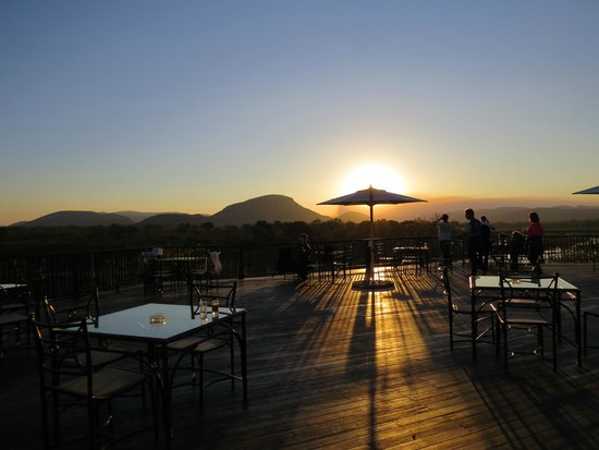 Pestana Kruger Lodge: Magnificent terrace