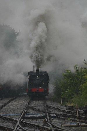 Foxfield Railway : Working hard !