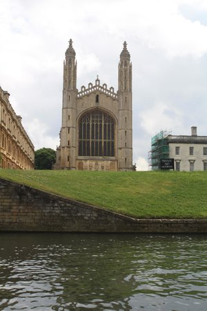 King's College Chapel: Kings College Chapel from the River Cam