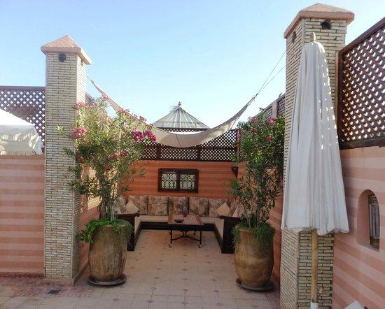 Riad de la Belle Epoque : Terrace