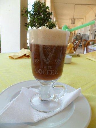 The Rovers Return Inn: Irish coffee