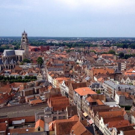 Beffroi et marché : View from top