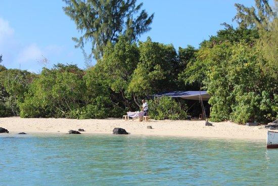 Ambre Mauritius: endroit ou vous mangerai lors de votre sorti a l'île aux cerfs