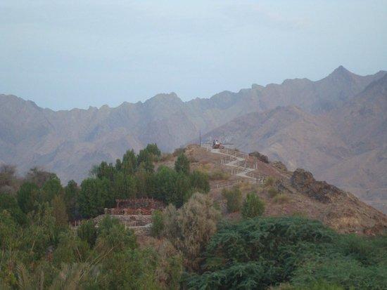 JA Hatta Fort Hotel : view