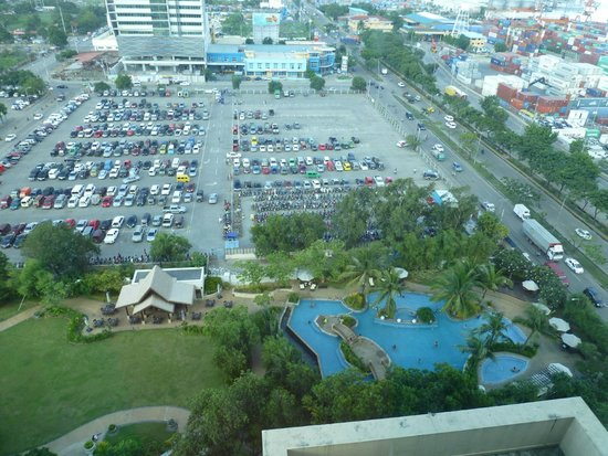 Radisson Blu Cebu : View from room