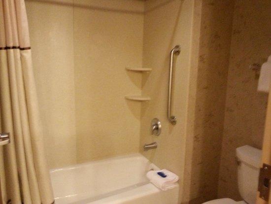 BEST WESTERN PLUS Bryce Canyon Grand Hotel: doccia con tenda usa e getta