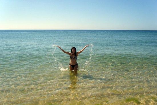Tavira Island : El agua