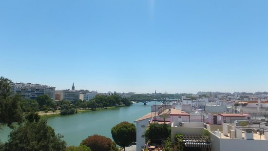 Ribera de Triana Hotel : view from the rooftop bar