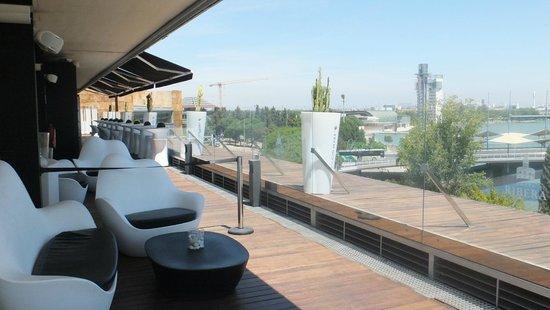 Ribera de Triana Hotel: Rooftop bar