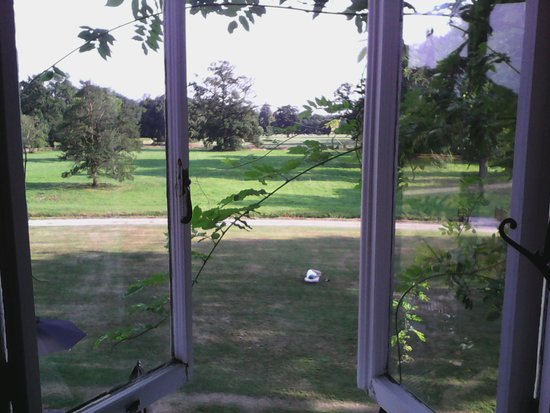Milton Hill, Abingdon: view of grounds from bedroom