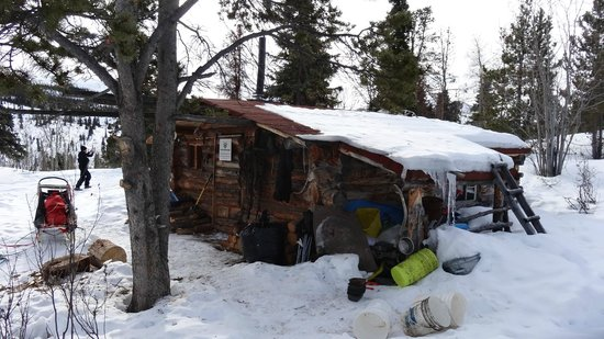 Sky High Wilderness Ranch: Trapper Cabin am Coal-Lake