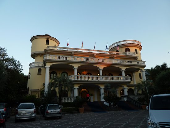 Grand Hotel Le Zagare: Ansicht Eingangsbereich