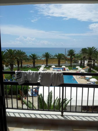 Golden Sands Hotel: the view