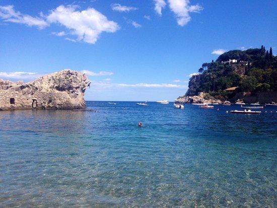 Lido Mazzarò: Пляж