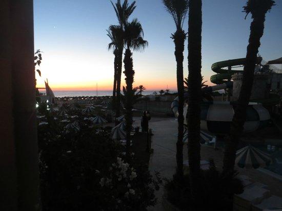 Le Marabout Hotel : le soleil se leve