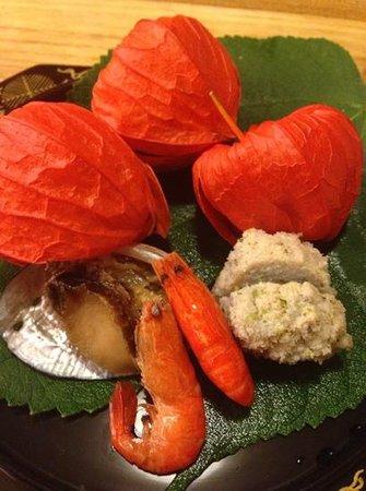 Roan Kikunoi, Kiyamachi: appetizer