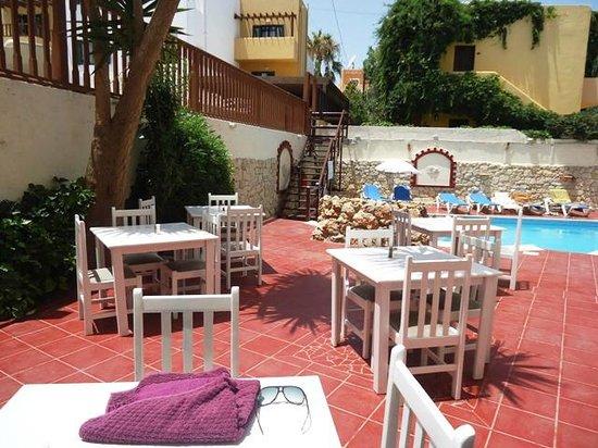 Elmi Suites: tables