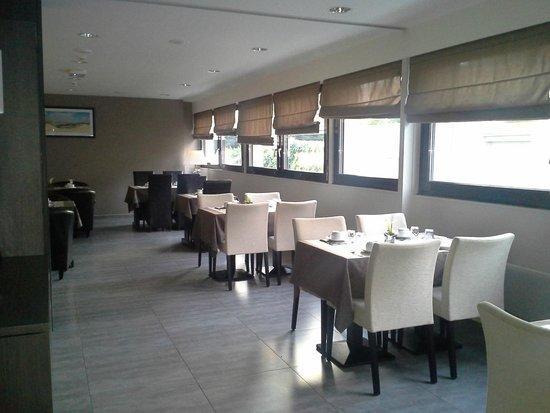Hotel de la Baie de Somme: salle des petits déjeuners