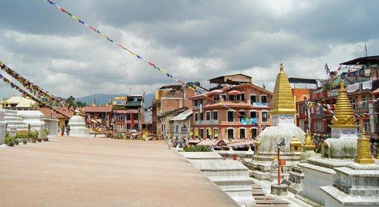 Stûpa de Bodnath : Bouddhanath Stupa